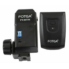 Wireless Flash Trigger PT-04 TM 4 Channel+ Receiver For Sigma Canon Nikon Pentax