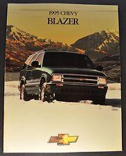 1995 Chevrolet Blazer Truck Brochure LS LT Excellent Original 95 Canadian