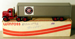 DTE OLD WINROSS AT ASSOCIATED TRANSPORT TRACTOR TRAILER TRUCK BOXED