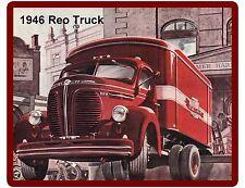 1946 Reo Truck  Refrigerator / Tool Box Magnet