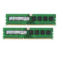 For Samsung 16GB 2x 8GB RAM PC3L-12800U DDR3L 1600MHz Desktop Memory DIMM Intel