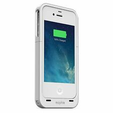Mophie Juice Pack Air Snap Battery Case for iPhone 4,4S - White
