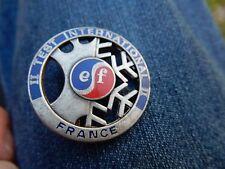 EF FRANCE TEST INTERNATIONAL SKI SKIING pin badge Decat Paris 35 mm
