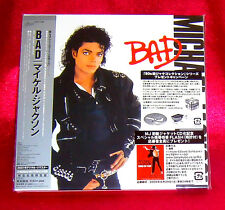 Michael Jackson Bad JAPAN MINI LP CD EICP-1196 1ST Press