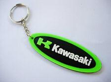 KAWASAKI Green color keyrings - keychains - porte clefs - portachiavi - llaveros