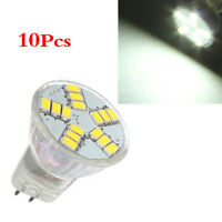 10x MR11 G4 4W 15 SMD 5630 LED Light Spotlight Bulb Lamp 12V Day White D6M9 M1X3