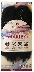 Obsession Crochet Afro Cuban Braid Hair Extension VELVET MARLEY   Freetress copy