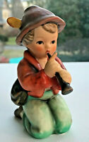 """Vintage Hummel Nativity Figurine """"Shepherd Boy Kneeling w Flute/Little Tooter"""""""