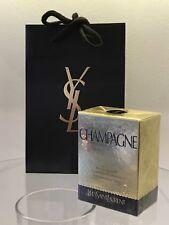 YSL Perfume Edt De Champán Vintage Nuevo Sellado Recargable 20 ML Bolsa De Pulverización
