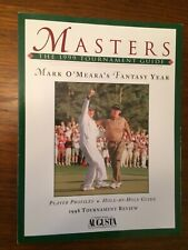 1999 Augusta Masters Golf Tournament Guide