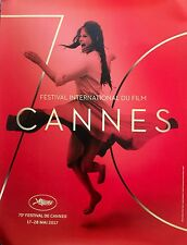 "CANNES FILM FESTIVAL 2017 ORIGINAL OFFICIAL POSTER 32"" X 24"" MINT FAST SHIP"