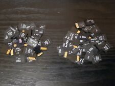40 x 2GB 1GB Micro SD Memory cards Bulk job lot Mix Brands