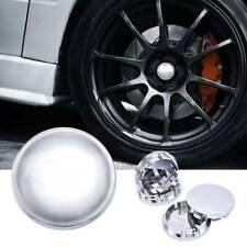 4Pcs 56mm Car Wheel Center Caps Hub Tyre Rim Cap Cover Universal ABS Chrome M7H3