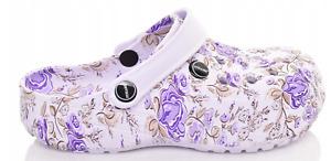 Womens Beach Shoes Sandals Slip STYL CROCS, CLOGS size UK 6, EU 39