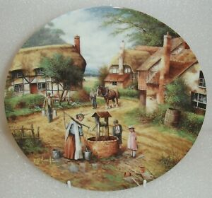 Wedgwood PLATE-FETCHING THE WATER - COUNTRY DAYS-CHRIS HOWELLS-Excellent cond