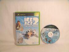 Ice Age 2: The Meltdown (Microsoft Xbox, 2006) *NO Manual*