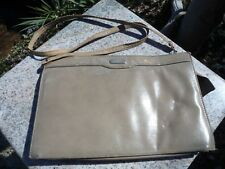 Vintage 1970s Cabrelli Montreal Shoulder Bag Strap Beige Medium Purse Zipper