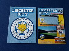 LEICESTER CITY BADGE Trading card MERLIN'S PREMIER GOLD 1996/97