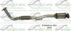 Davico Mfg 16118 Catalytic Converter For 97-00 Toyota Camry Solara