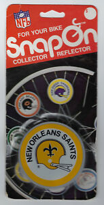 1979 New Orleans Saints bike reflector MIP Snap-On original MINT in package rare