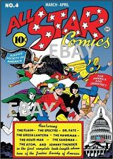 ALL STAR COMICS 4 COVER PRINT Justice Society of America
