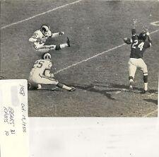 Vintage CHICAGO BEARS WIRE / PRESS PHOTO: 1958 vs. Rams 6x8
