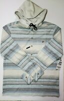 Billabong Men's Wave Washed Baja Flannel Hoodie Medium Large NWT SHIPS FAST