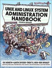 Unix and Linux System Administration Handbook Paperback Evi Nemeth