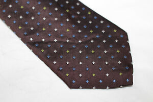 ERMENEGILDO ZEGNA Silk tie Made in Italy F2325  man