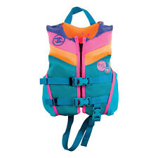 HYPERLITE Colorful Girl's Child Indy Water Life Jacket Vest, USCG Approved(Used)