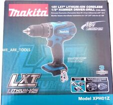 "New IN BOX Makita 18V XPH01Z LXT Cordless 1/2"" Hammer Drill 18 Volt Lit-Ion"