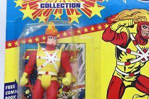 1985 Kenner Super Powers FIRESTORM Action Figure, MOC