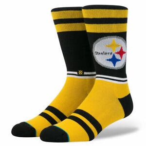 Stance NFL Pittsburgh Steelers Logo Socks Size L (9-12)