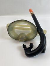 Vintage ScubaPro Tempered + Scuba Diving / Snorkeling Dive Mask Snorkel
