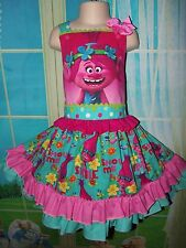 Patchwork Christmas dress Gnome Dress  - Size 5t/6  26-in length