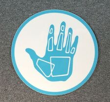 BODY GLOVE Sticker Surfboard Decal 4in blue circle si