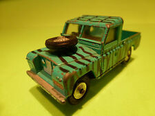 CORGI TOYS LAND ROVER 109 WB SAFARI DAKTARI  - GREEN - 1:43 - RARE - GOOD