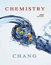 Chemistry by Raymond Chang, 10th Edition (Hardcover)