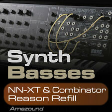 300+ SYNTH BASSES REASON REFILL NNXT + COMBINATOR BONUS - PC MAC MPC