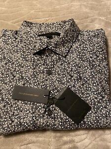 John Varvatos Long Sleeve Shirt - Mens  Medium