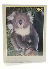 Vintage Waddington's Games-The Picture Gallery Australian Koala 750 Puzzle New