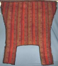 Authentic Antique Islamic Turkmen Horse Saddle Cover Turkoman Horse Blanket