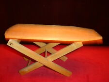 Vintage toy wooden ironing board C.1960 Good Condition