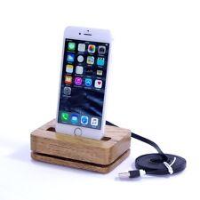Apple iPhone 6s iPhone 7 Plus Dock Tischlader Handy Akku Ladestation Ständer WOW
