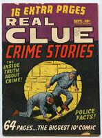 Real Clue Crime Stories No. 7 Vol. 5 Sept 1950 Vintage Comic Book - BJ116