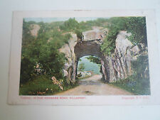 Vintage Postcard Tunnel In The Kenmare Road Killarney Franked+Stamped 1904