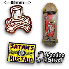 RETRO LOOK SKATE STICKERS, Voodoo St originals, OLD SCHOOL, COOL, SKULL, SK8