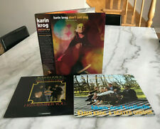 """Karin Krog 3 Near Mint Lps """"I Remember You~Some Other Spring~Don't Just Sing""""!"""