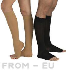 23-32 mmHg TONUS ELAST Compression Socks Knee High Support Stockings Open Toe