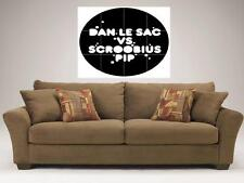 "DAN LE SAC VS SCROOBIUS PIP MOSAIC 35""X33"" INCH WALL POSTER ELECTRO HIPHOP"